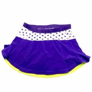 Lululemon tennis skirt small purple shorts added